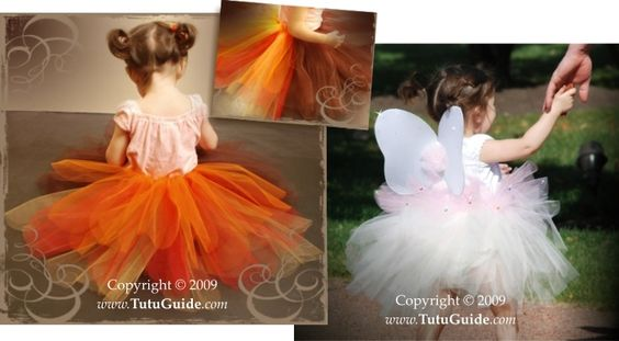 Discover All The Basic Techniques on How to Make a Tutu, Including 10 Different Variations... All With NO Sewing!