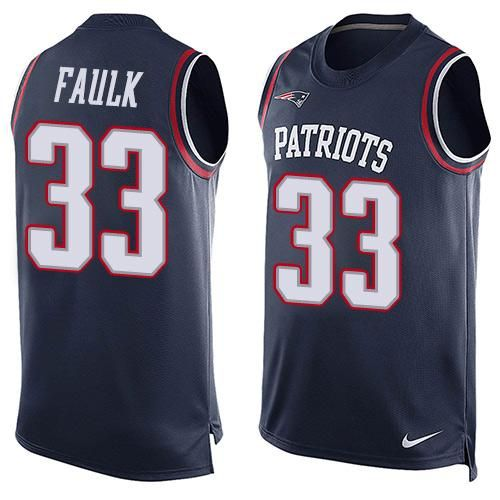 ... Navy Blue Team Color 2016 Nike NFL New England Patriots 10 Jimmy  Garoppolo blue Men Stitched Limited Tank Top Jersey . feb99c3dd