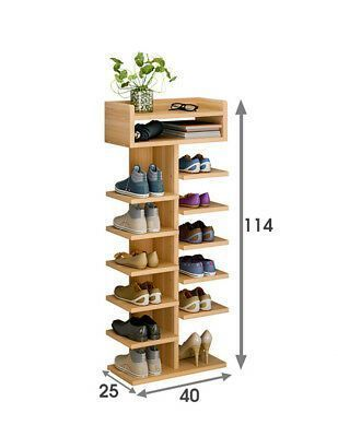 Double 6 Tier Schuhschrank Schuhregal Stander Organizer Regale Unit Uk Double Hangingshoes Shoe Storage Cabinet Space Saving Shoe Rack Diy Shoe Rack