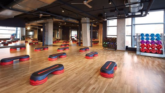 PORCELANOSA Grupo projects: #Fitness life in The Yards, #Washington D.C. #architecture #InteriorDesign