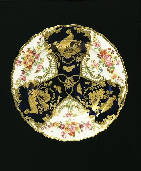 Dessert Plate, Chelsea Porcelain Factory, 1759-69