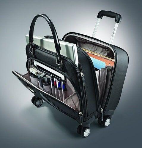 Samsonite Women S Laptop Spinner Mobile Office Laptop Bag For