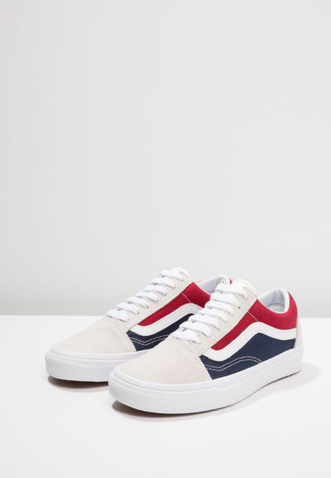 vans old skool bleu blanc rouge