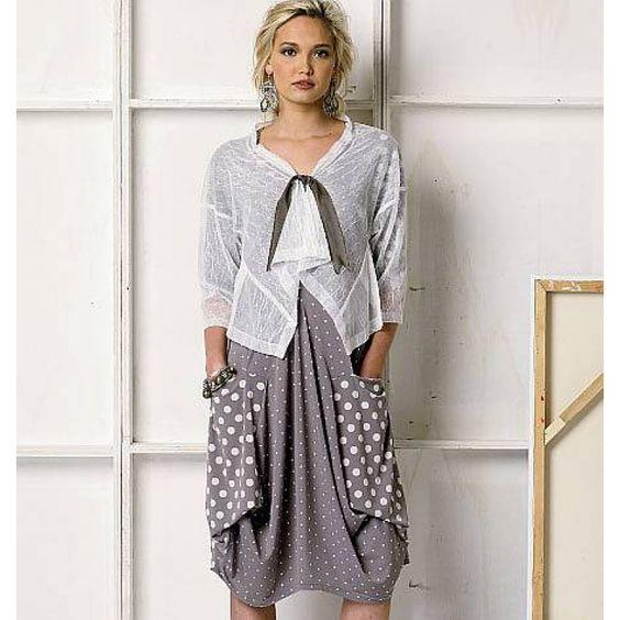englisches Schnittmuster Vogue 8975 Sommerkombi Gr. Damen...