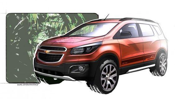 Chevrolet Spin Activ Concept - Sketch Render