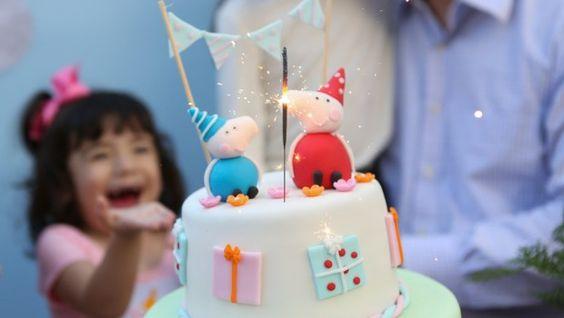 Peppa Pig na festa de 3 anos | Crianças | It Mãe