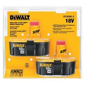Dewalt 18 Volt Xrp Ni Cad Rechargeable Batteries For Dewalt 18 Volt