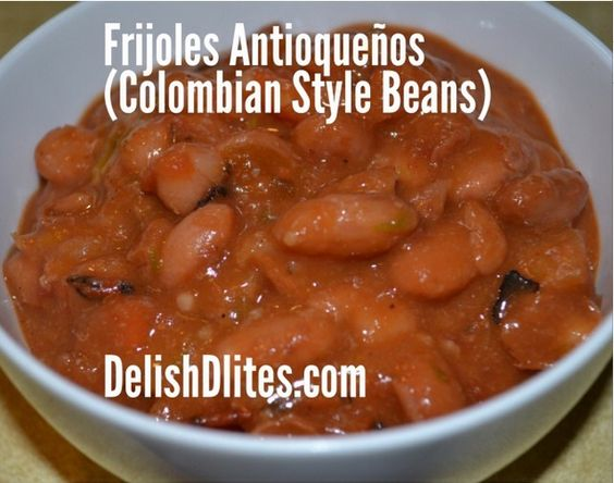 ... style sausage n beans colombian style beans and rice recipes dishmaps