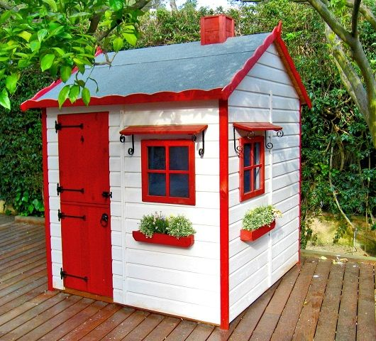 Casas de madera para ni os - Casas ninos jardin ...