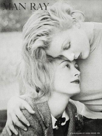 Nusch et Sonia Mosse