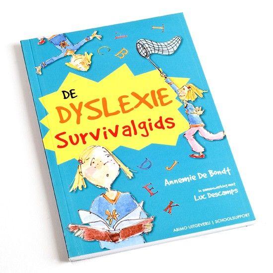 De dyslexie survivalgids - Wat is dyslexie en hoe kun je ermee omgaan? In dit leerzame boekje staat bruikbare informatie, beroemde mensen met dyslexie, hulpmiddelen en testen.