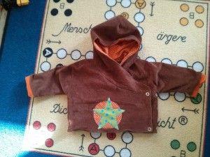 Wickeljacke für Baby | Nähmich, Häkelmich