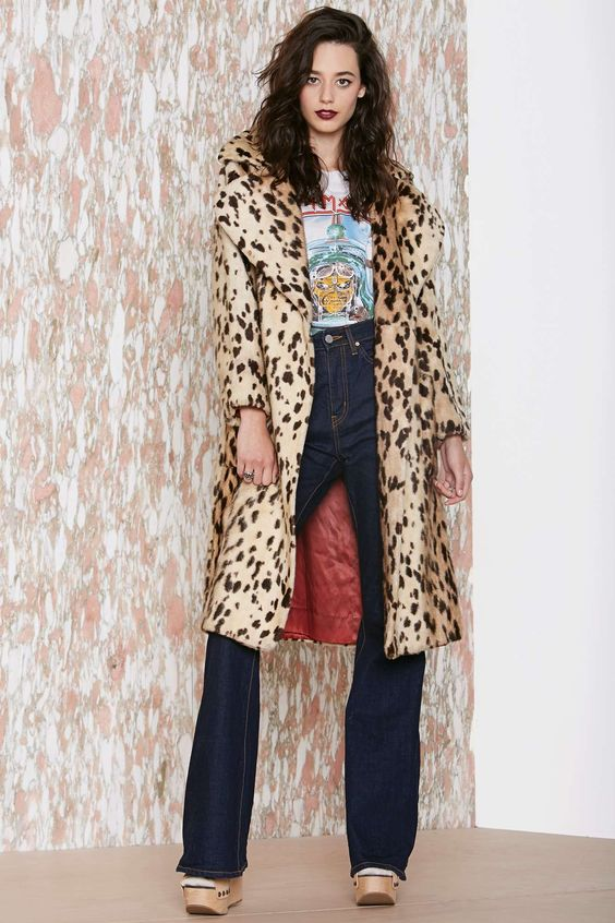 Vintage Cat's Meow Coat | Shop Fall Of The Wild at Nasty Gal