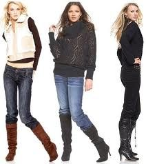 Boots with jeans are cute and relaxed. How you match the top is your own personal touch..