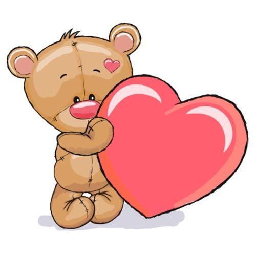 Emoji Osito Peluche Con Corazon Actualice Su Estado Con Un Dulce Recordatorio De Amor Cuando Publique Esta Osos De Peluche Dibujo Oso De Peluche Arte Infantil