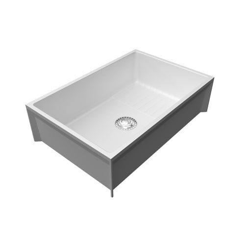 Swan Ms02436wa 033 Mop Service Sink For A Dog Was Instead Of