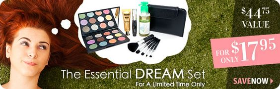 Coastal Scents.com - Great website for great makeup that's not too pricey!