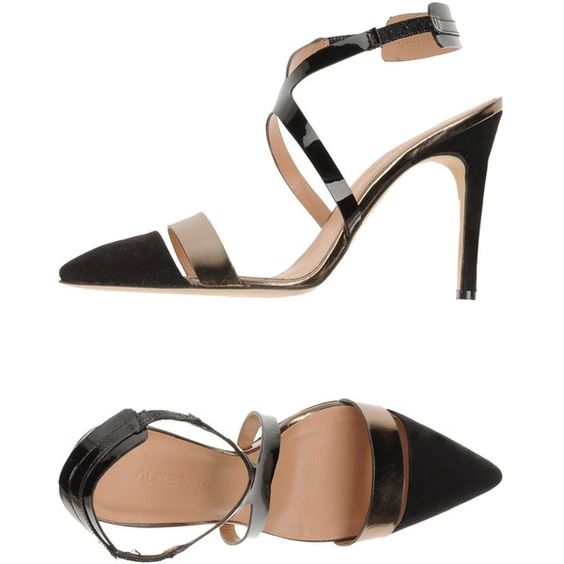 Altiebassi Sandals (6,195 THB) ❤ liked on Polyvore featuring shoes, sandals, black, leather sole shoes, kohl shoes, high heel stilettos, black stilettos and black leather shoes