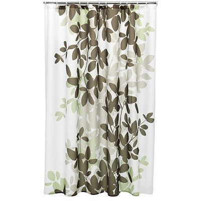 Curtains Ideas apt 9 shower curtain : Apt. 9® Zen Leaf Fabric Shower Curtain | Master Bathroom ...