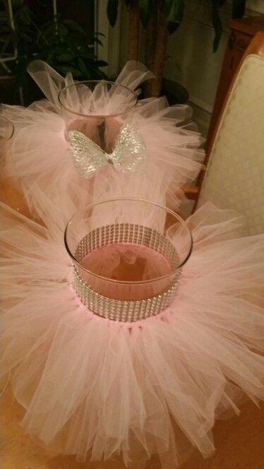 Tutu centerpieces event treats pinterest party