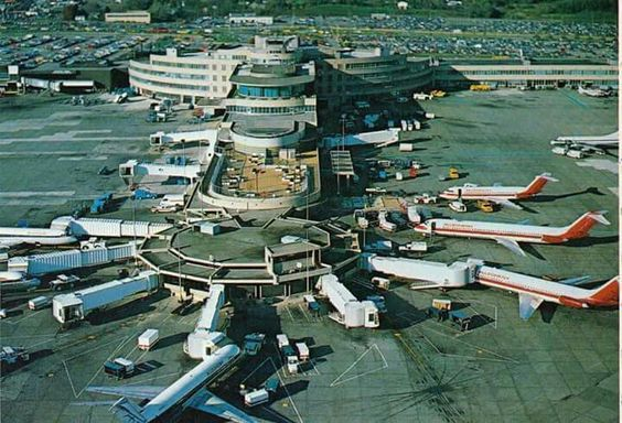 Vintage Picture Of The Old Greater Pittsburgh International Airport Pittsburgh International Airport Pittsburgh City Pittsburgh