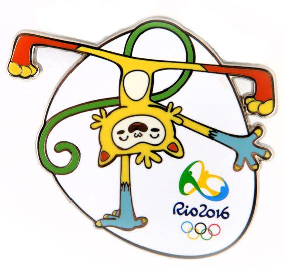 Pin do mascote Olímpico Rio2016 - Vinicius