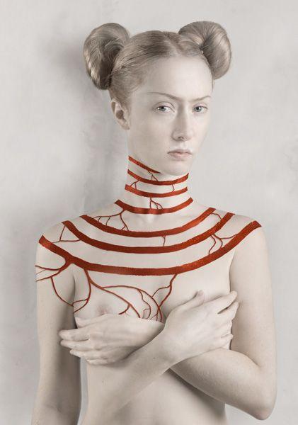 Belkina.ru | art | Paint | Frida White