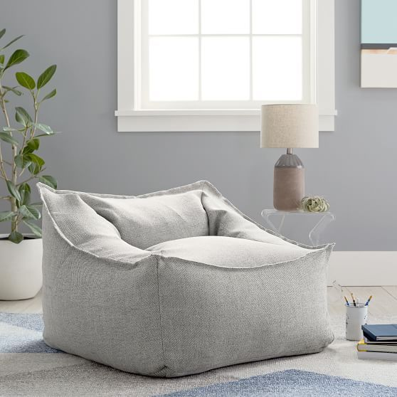 Tweed Charcoal Modern Lounger in 2019   Furniture, New ...