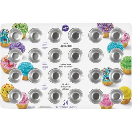 Wilton 24-Cavity Mini Cupcake Pan 2105-5120