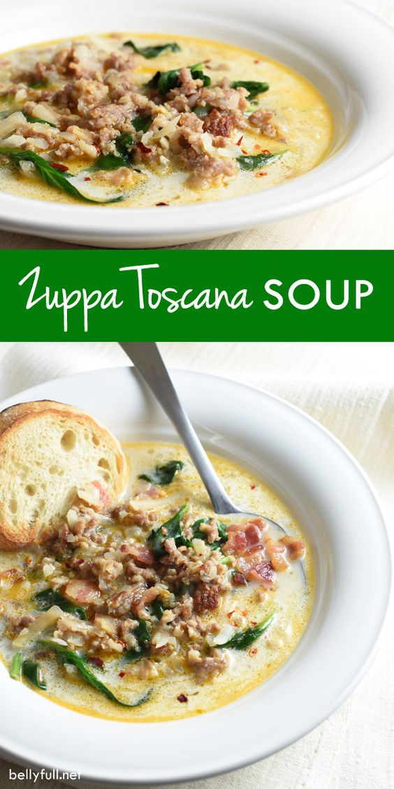 Gardens Bacon And Zuppa Toscana Soup On Pinterest