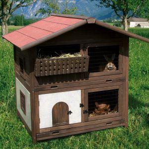 El blog de los conejos enanos fotos de adorables casas para conejos animales pinterest blog - Casas para conejos enanos ...