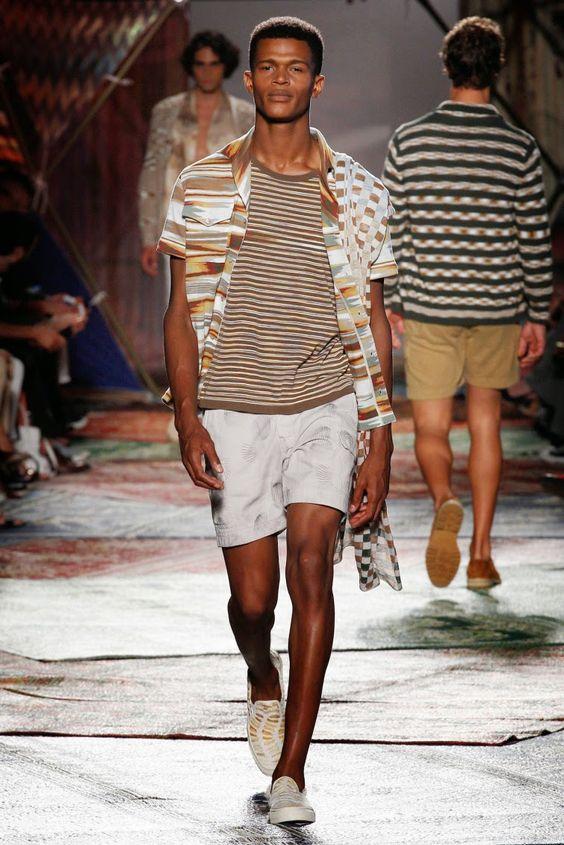 Male Fashion Trends: Misoni Spring/Summer 2015   Milan Fashion Week