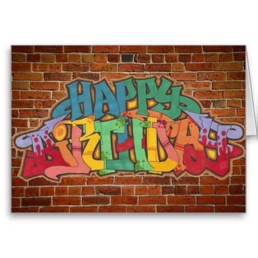 Happy Birthday Schrift Graffiti ~ Geburtstag gl�cklich and geburtstagsgr��e on pinterest