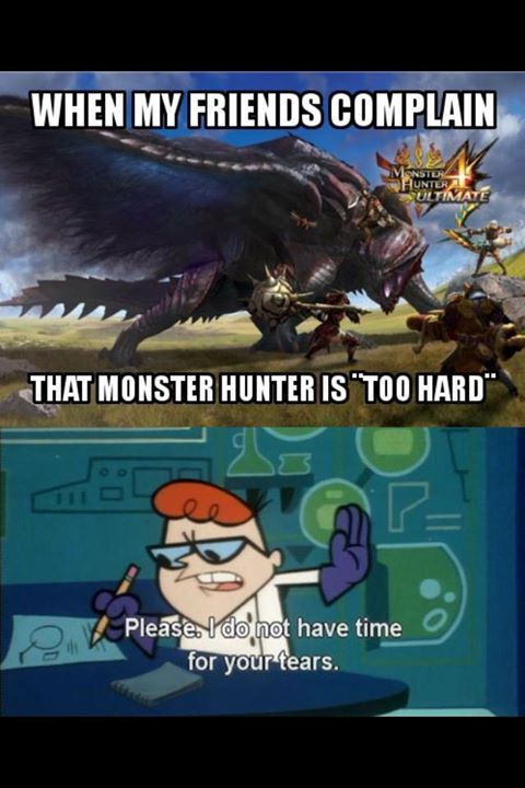 hunter world monster hunter memes