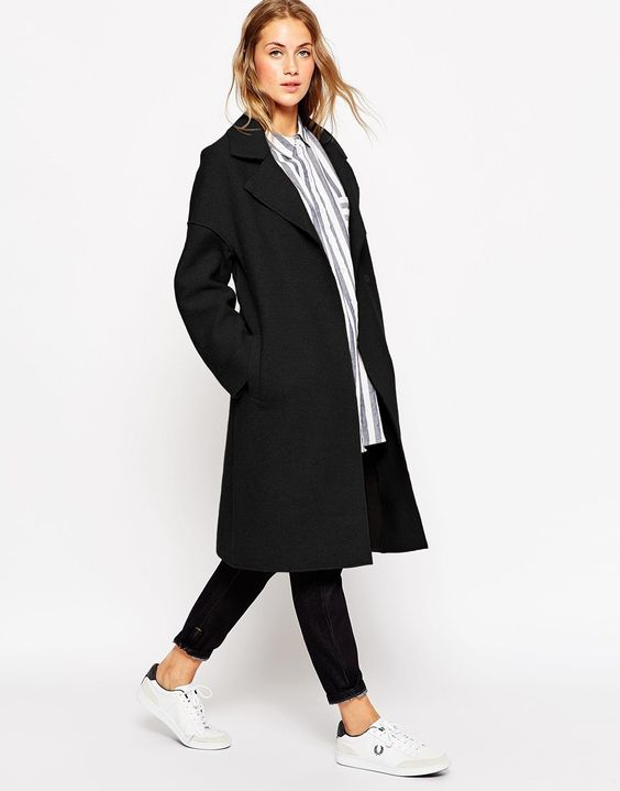 #black #coat #fallstyle