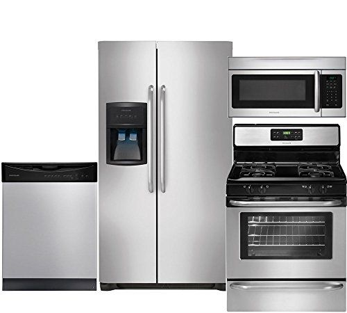 Frigidaire 4-Piece Stainless Steel Kitchen Package with FFHS2322MS ...