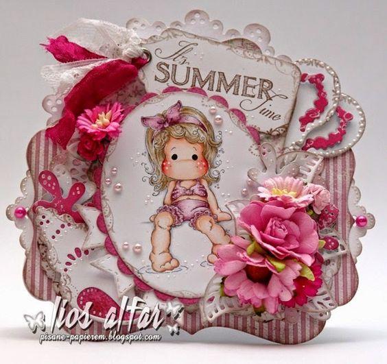 Pisane papierem: Tilda's Town #114 - Celebrate Summer!