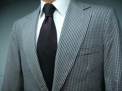 Cotton blazer Blue gingham and Sport coats on Pinterest