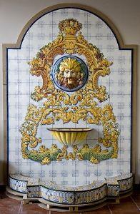 Fuente de azulejos de talavera de la reina en toledo - Azulejos reina ...