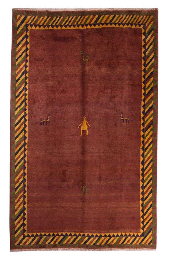 Gabbeh  Teppiche  Moderno Tappeto Alfombra 259 x 185 cm Carpet perserteppich