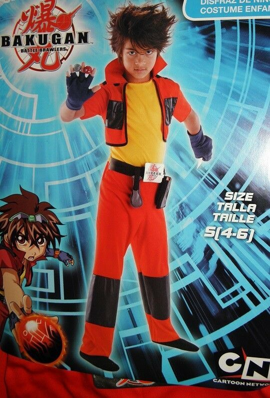 Small Bakugan Dan Child Costume