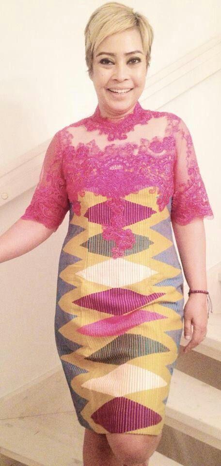 brokat batik batik dress woven combination of batik batik ikat batik ...