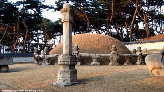 Emperor Seongjong's tomb, Seoul
