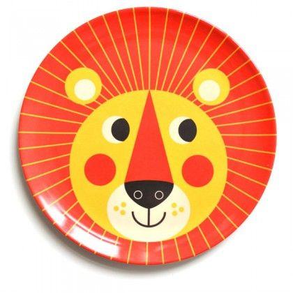 OMM Design Lion Plate - $12.95 - http://www.mymessyroom.com.au