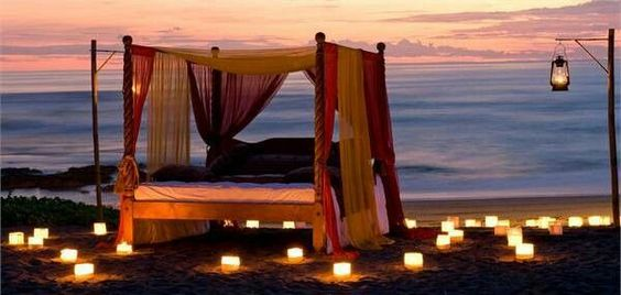 romantic ideas of beds on the beach ideas (2)