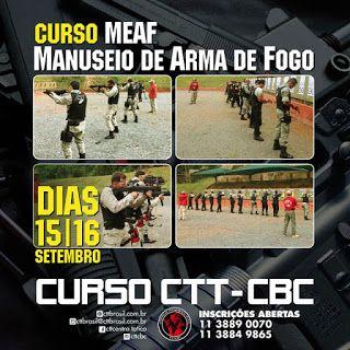ALEXANDRE GUERREIRO: OPORTUNIDADE: CURSO MANUSEIO E EMPREGO DE ARMA DE ...