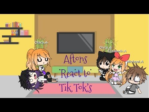 Afton React To Tik Toks Ft Ennard Nightmare Not Serious Youtube Afton Tik Tok Tok