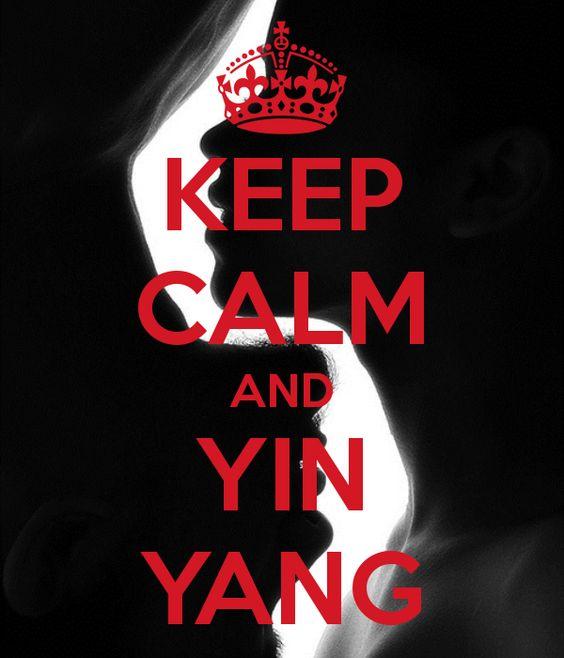 KEEP CALM AND YIN YANG - by me JMK