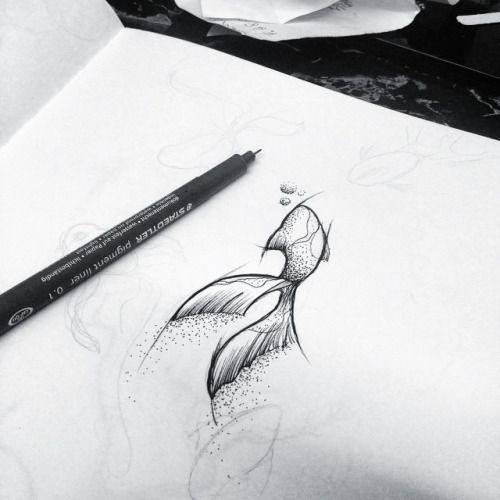 Idéias novas Gostei disso   pontilhismo   fish  …… #abstract #dots #art #fish #tattoo #tatuagem #ideias novas
