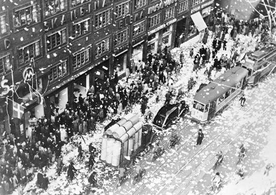 fredsdagen kungsgatan 1945